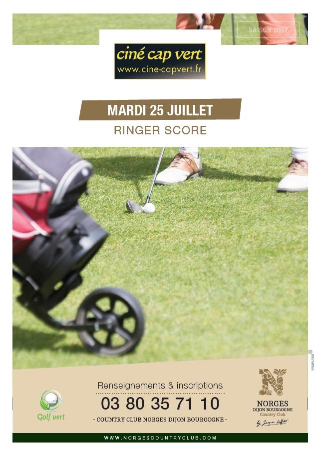 Ringer Score Ciné Cap Vert