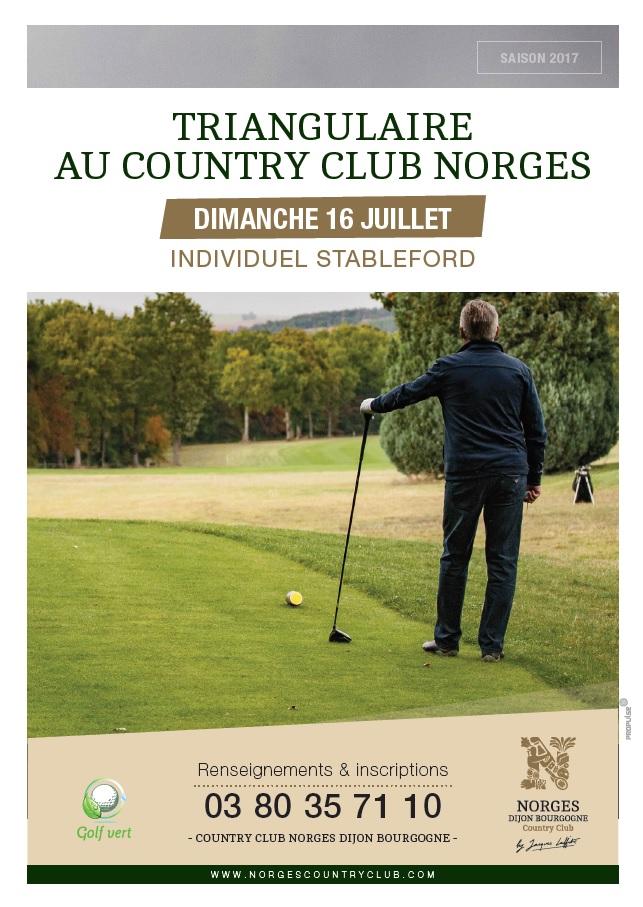 Triangulaire au Country Club de Norges