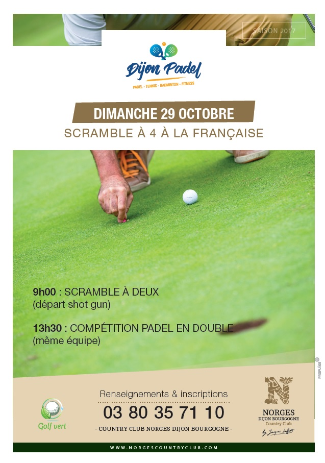 Trophée Golf - Dijon Padel