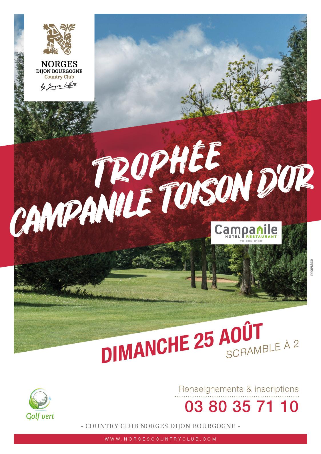 Trophée Campanile Toison d'Or