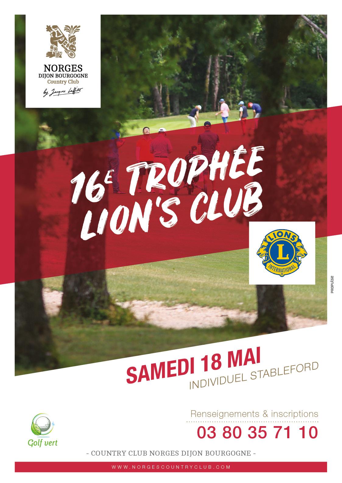 16e Trophée Lion's Club