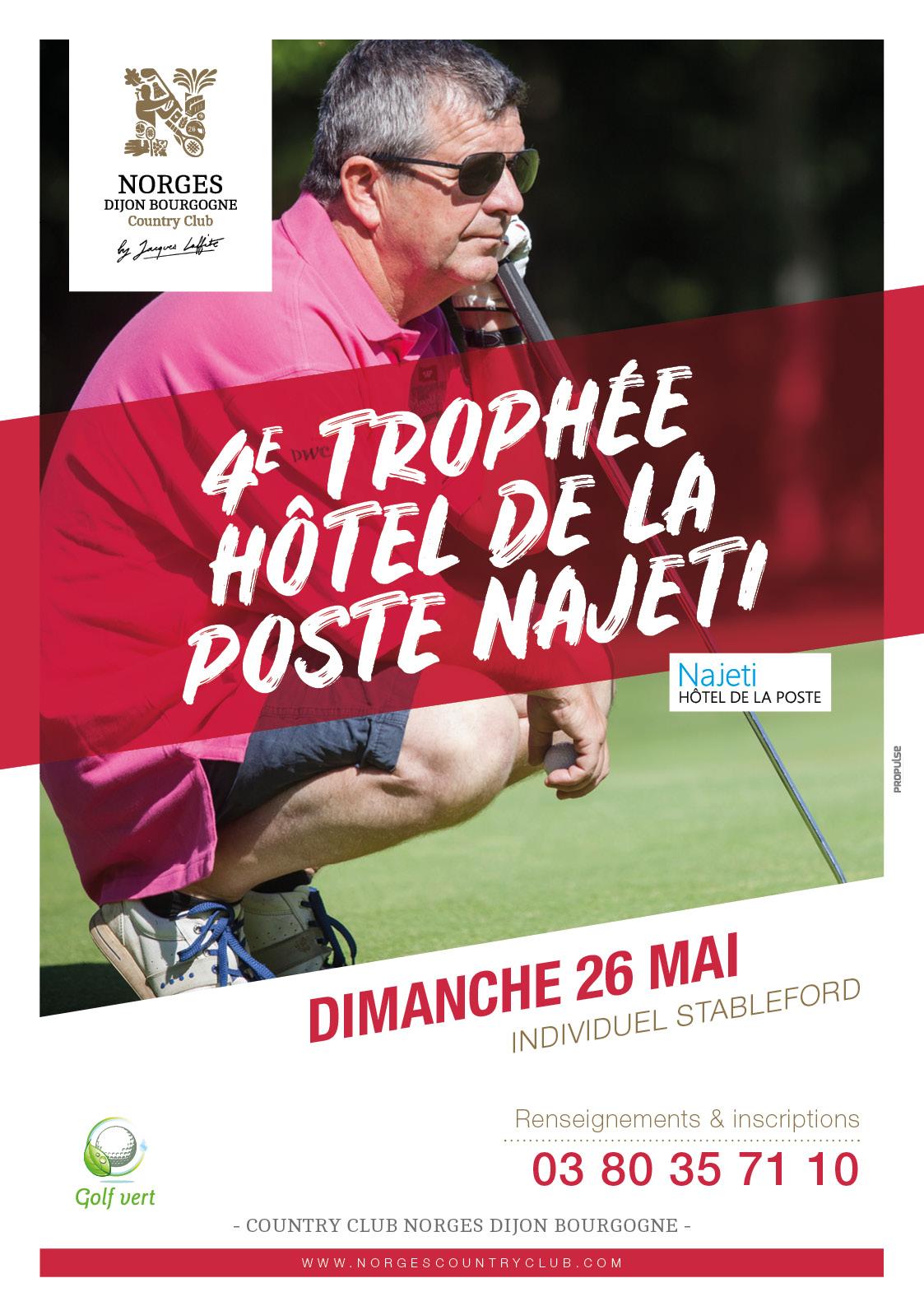 4e Trophée Hôtel de la Poste Najeti