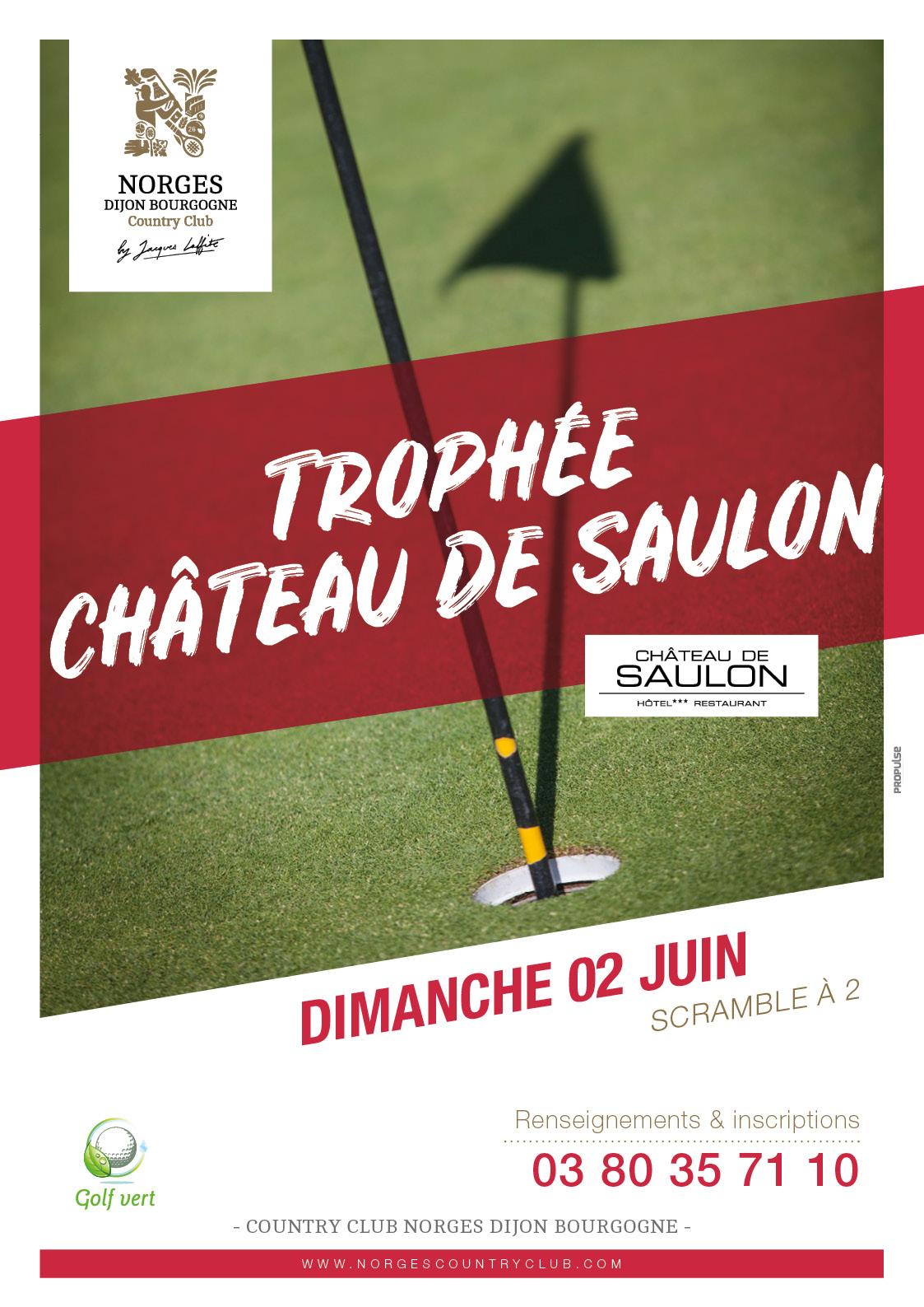 Trophée Château de Saulon