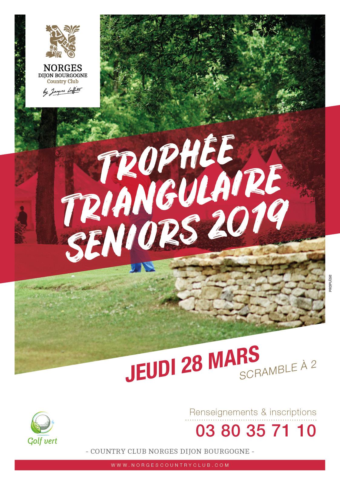 Trophée triangulaire seniors 2019