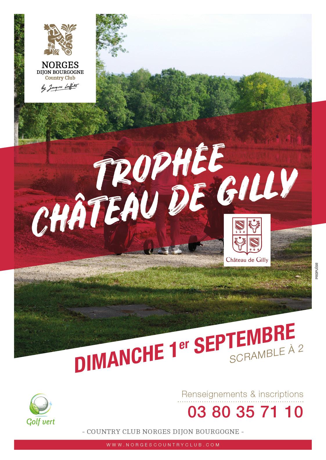 Trophée Château de Gilly