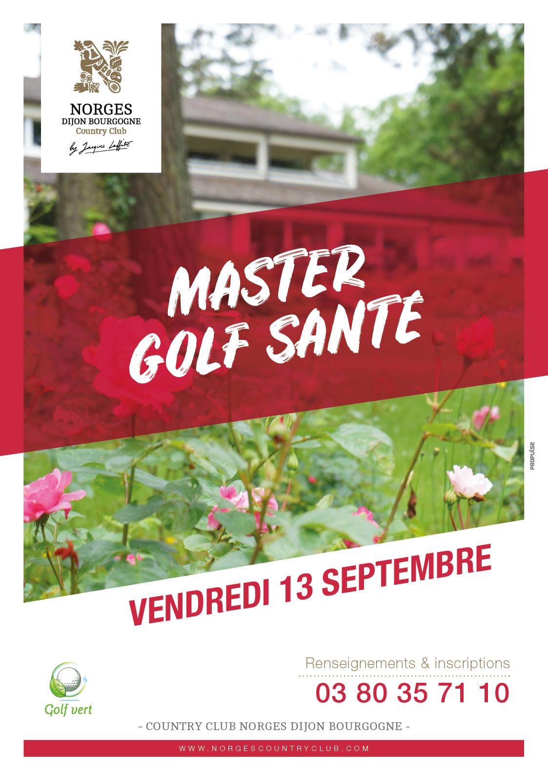 Master Golf Santé