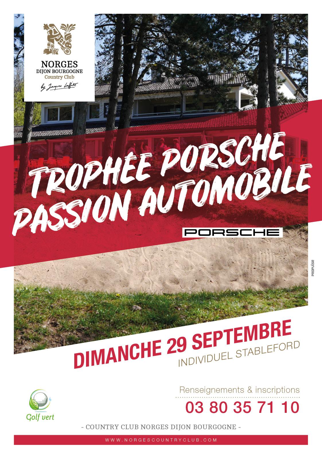 Trophée Porsche Passion Automobile