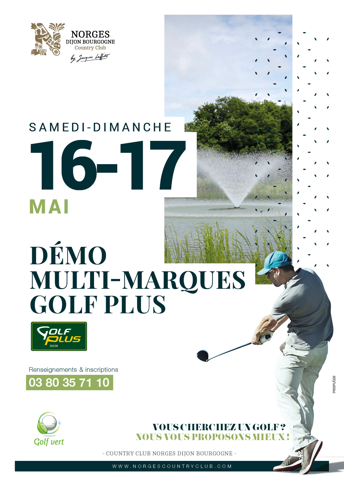 Démo multi-marques Golf Plus