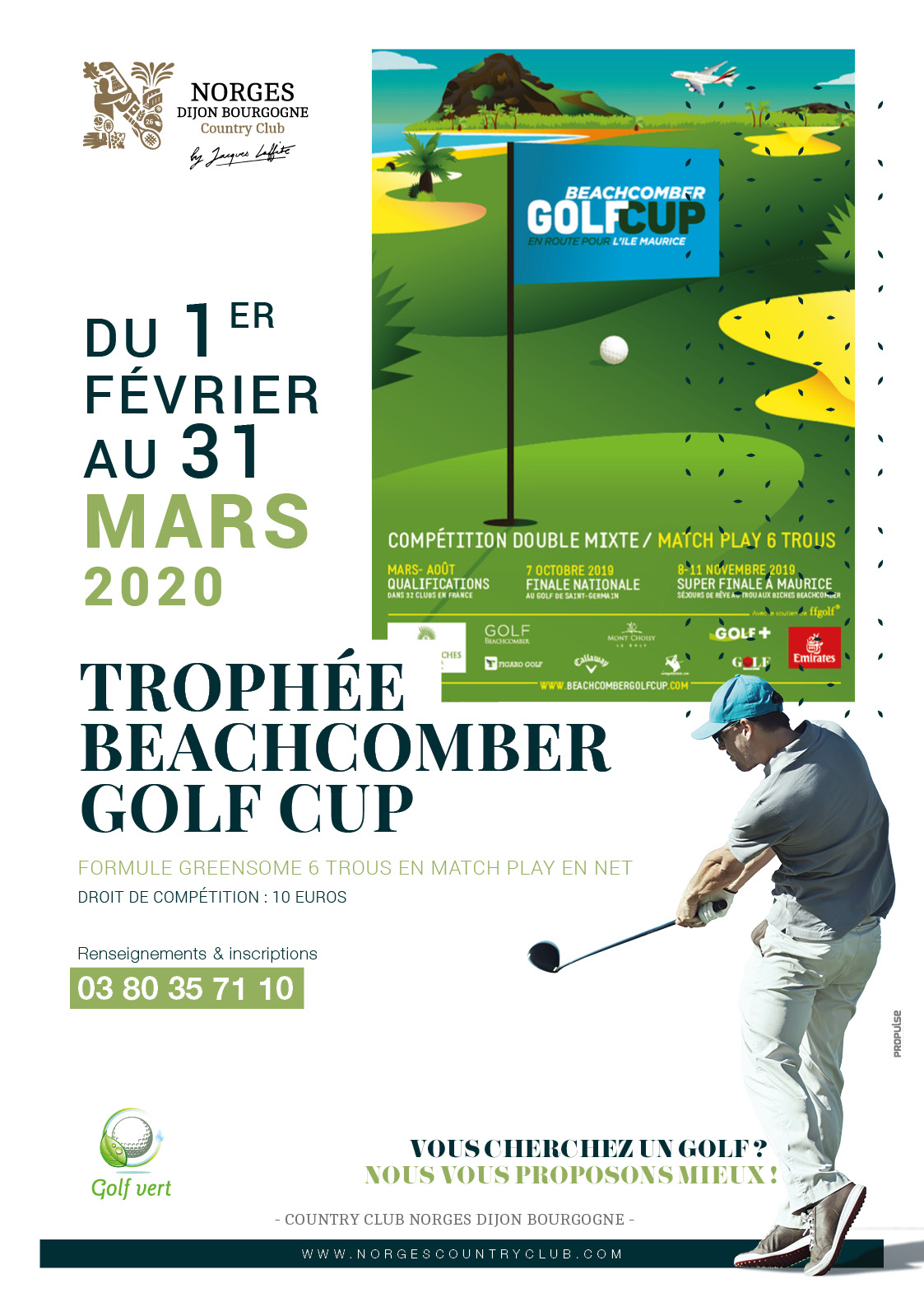 Trophée Beachcomber Golf Plus