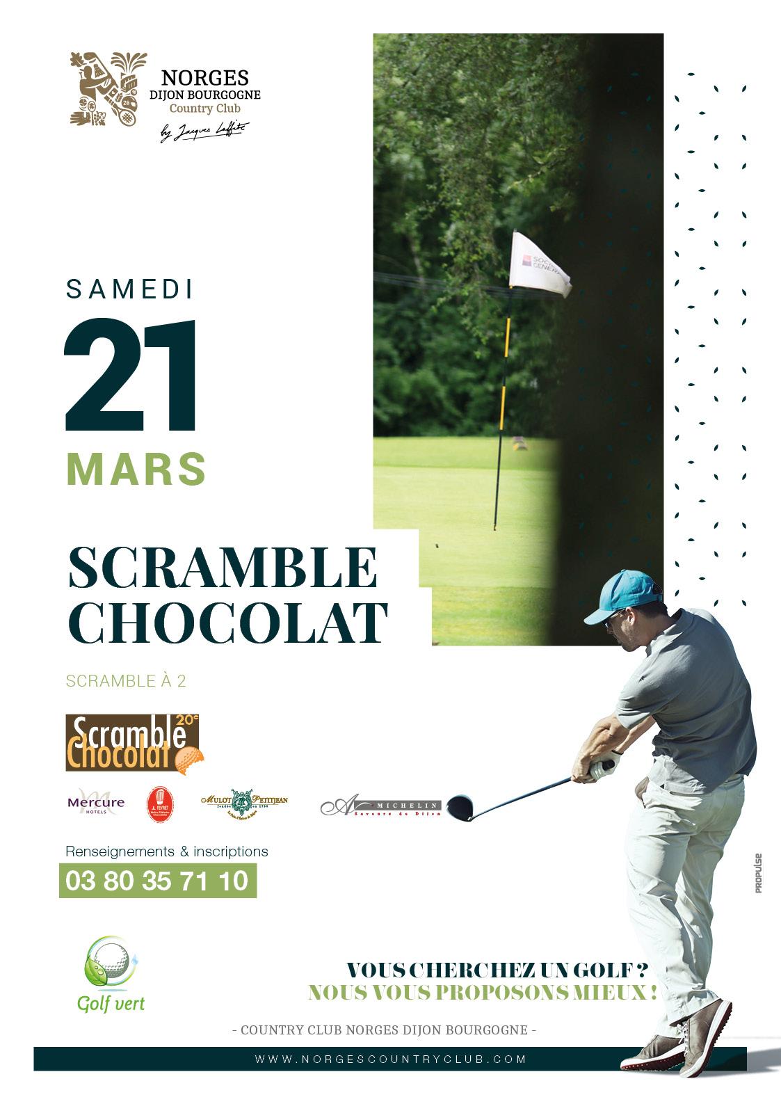 Scramble chocolat