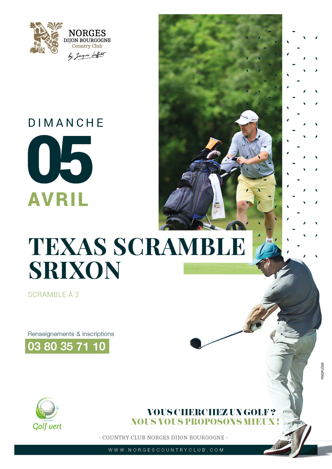TEXAS scramble SRIXON