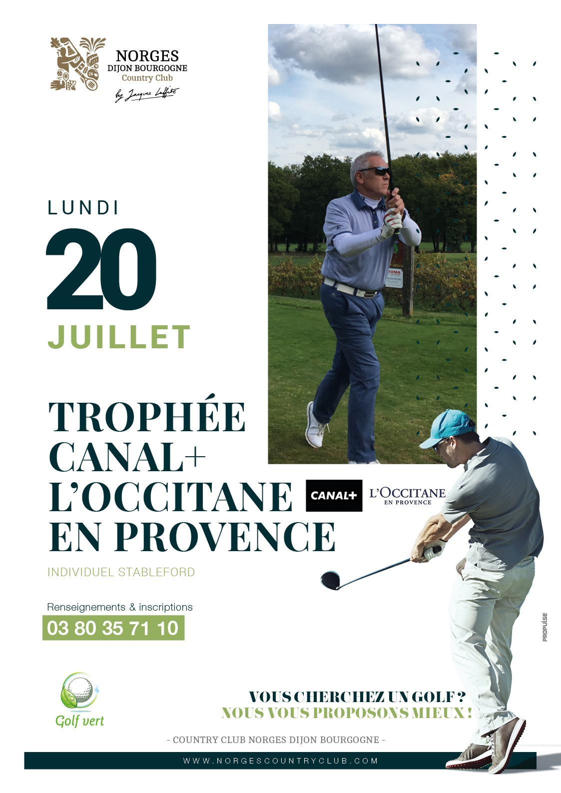 Trophée Canal+ l'Occitane en Provence