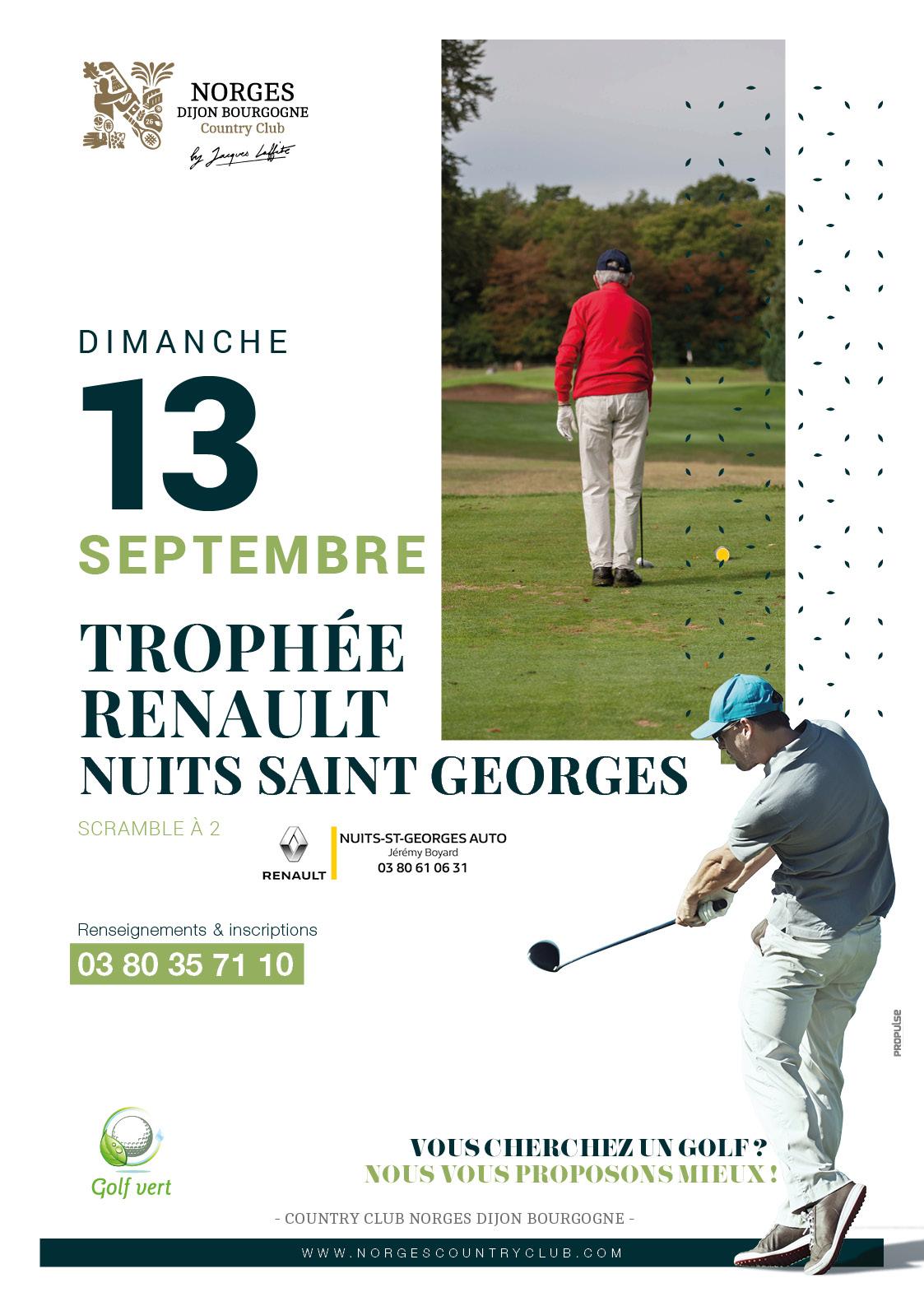 Trophée Renault Nuits-Saint-Georges