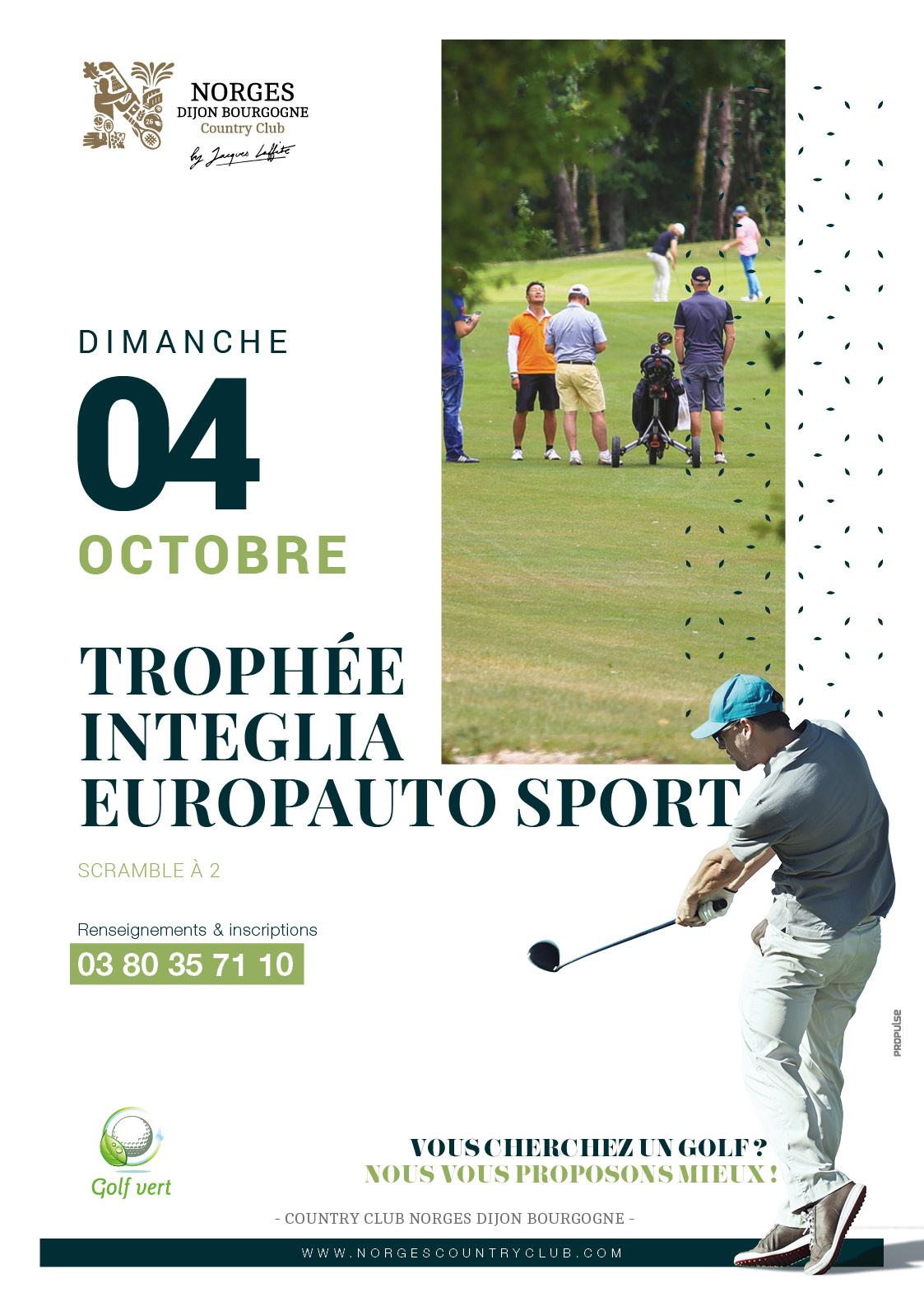 Trophée Integlia Europauto sport