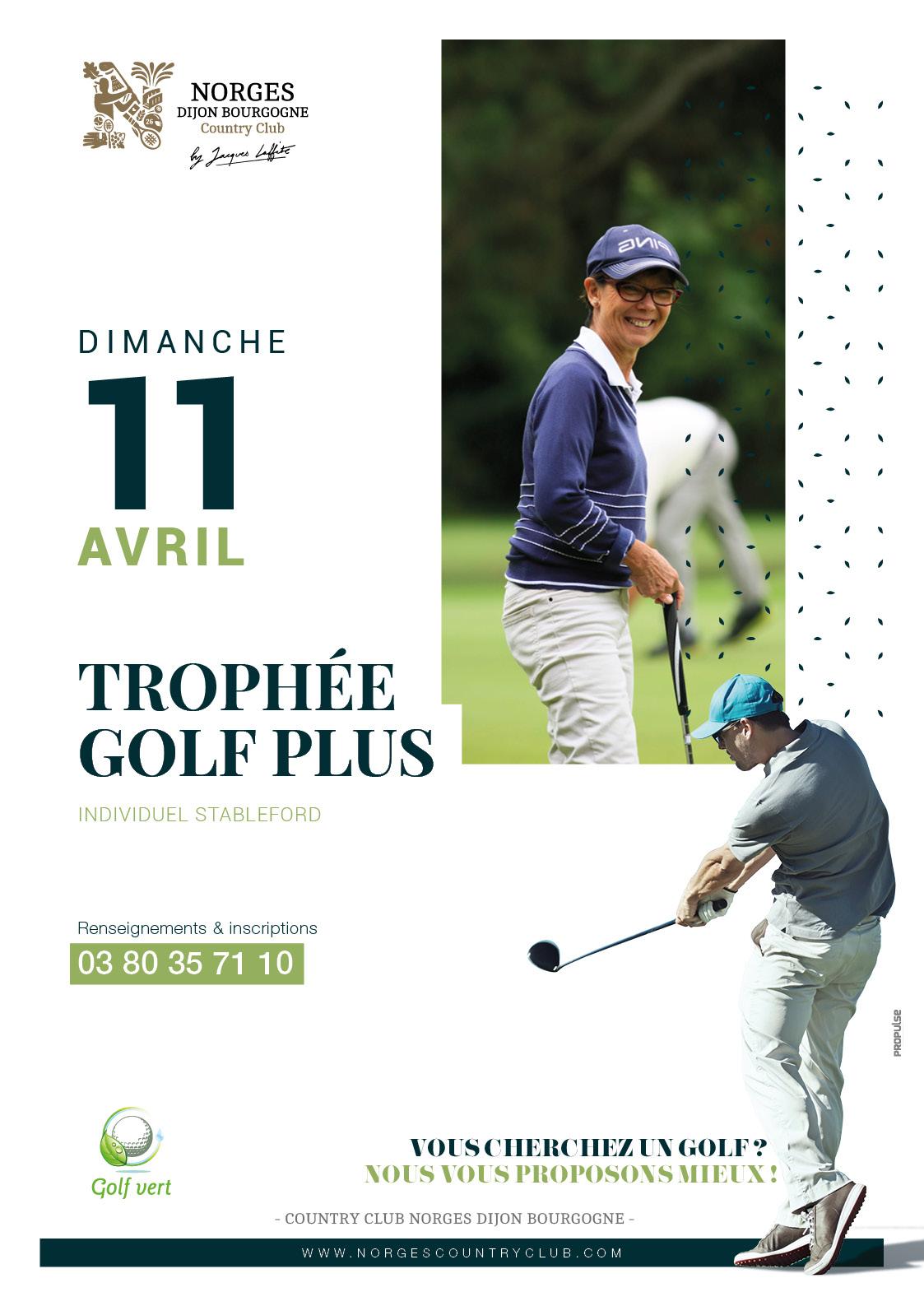 Trophée Golf Plus