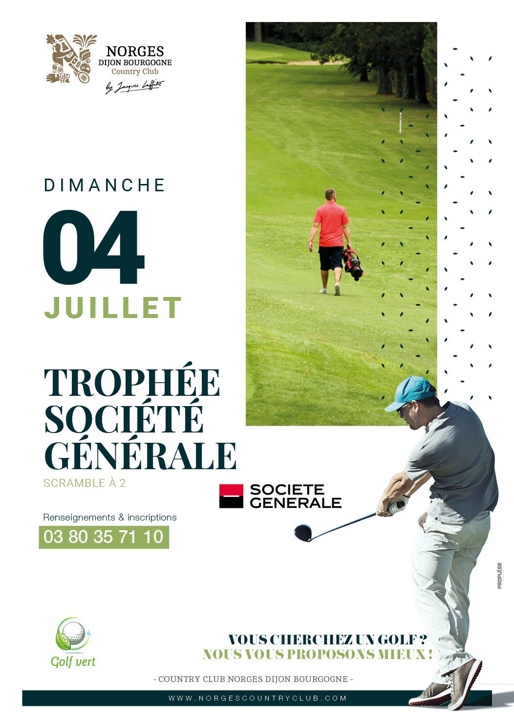 Trophée Société Générale