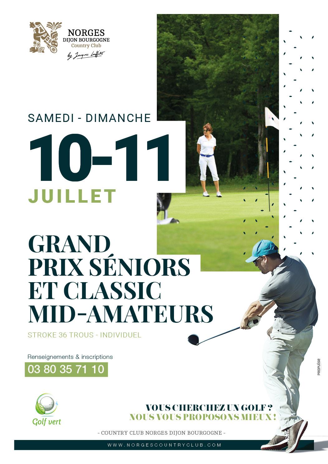Grand Prix Séniors et Classic Mid-amateurs
