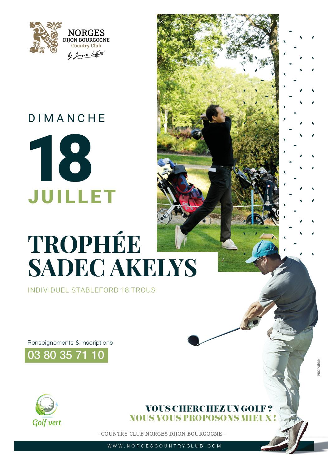 Trophée Sadec Akelys