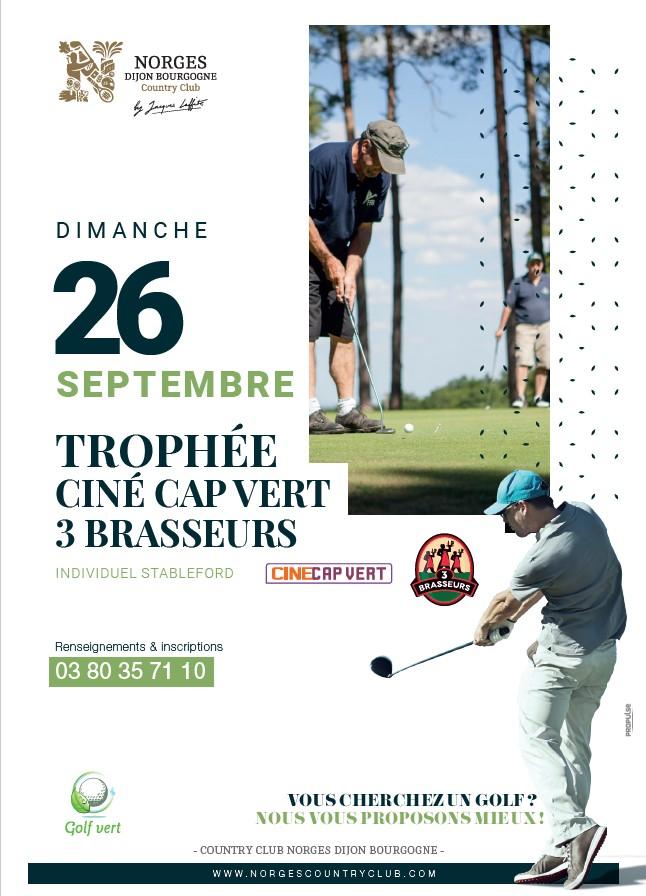 Trophée Ciné Cap Vert 3 Brasseurs